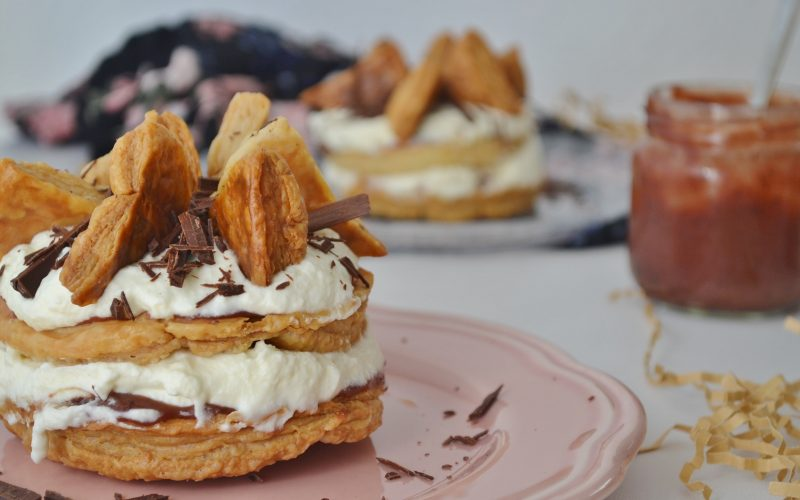Friesentorte mit Schoko-Pflaumenmus