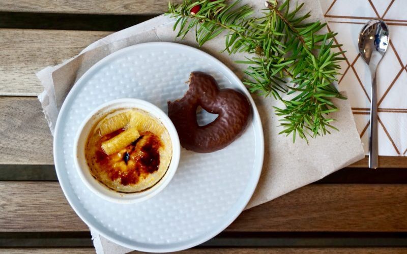 Lebkuchen-Crème Brûlée